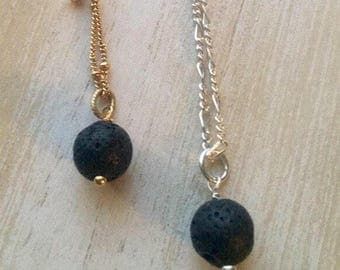 Lava Bead Essential Oil Necklace