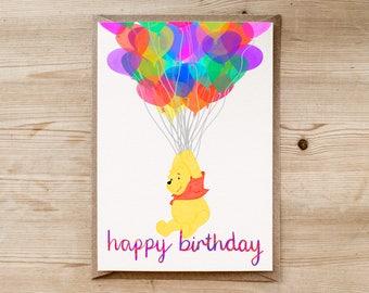 Disney birthday card Etsy