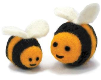 Bee Needle Felting Kit - Dimensions Feltworks