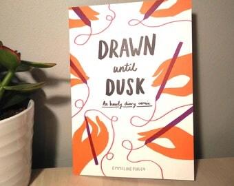 Drawn Until Dusk - Small Press Illustrated Diary Comic by Emmeline Pidgen