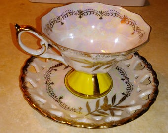 Royal Halsey very fine china tea cup