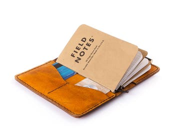Leather Notebook Cover, Gift for Her. iPhone 6,7. Wallet. Travelers Notebook. Anniversary gift. Moleskine  Veg Tan Italian Leather.A6 size