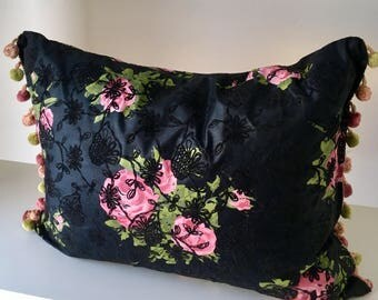 Vintage Fabric Cushion Cover.
