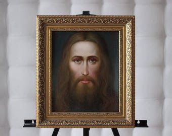 Icon Picture on canvas Oil Paintings Religious painting