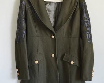 Women's Peppe Peluso Wool Coat