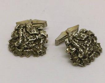 mid century BLYTH Sterling Silver Cufflinks  #172