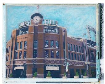 MLB Colorado Rockies Coors Field 8x10 download
