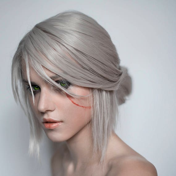 Made To Order Ciri Cirilla Cosplay Wig From Witcher 3 Wild