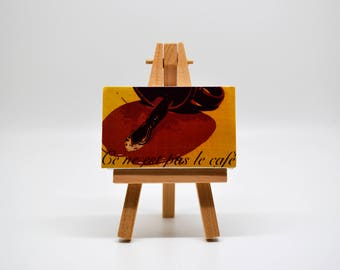 This is not Coffee - Mini Canvas w/ Easel