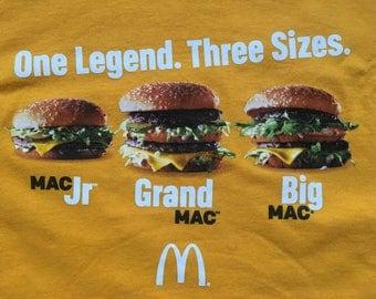 McDonald's Big Mac hamburger shirt-fast food
