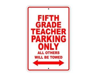 Fifth Grade Teacher