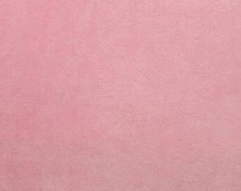 Spa Cuddle Blush Minky, Blush Minky, Shannon Minky Fabric, Shannon Cuddle Minky, Minky Fabric,  Minky by Yard, 100% Cotton