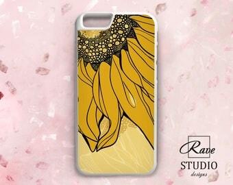 Sunflower phone case iPhone 7 plus Sunflower iPhone 8 Sunflower case iPhone 7 Phone case sunflower iPhone 5 rubber case iPhone 6 TPU case