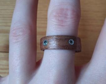 Handmade Wooden MtG Ring