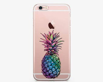 Pineapple iPhone 8 Plus Case iPhone X Case iPhone 7 Plus Case Personalized iPhone Case Samsung S7 Edge Case iPhone 6 Case iPhone SE AC1174