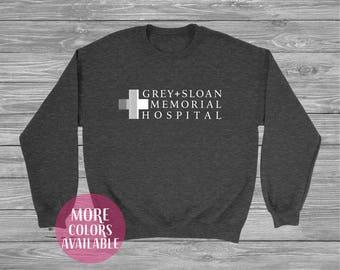 Grey Sloan Memorial Hospital, Grey's Anatomy,  Sweatshirt It's a beautiful day to save lives Greys anatomy, Thursdays We Watch Greys Anatomy