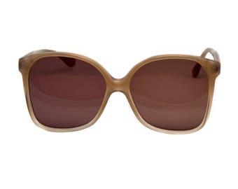 Vintage sunglasses 70s, made in France by Argos. Oversized sunglasses women - 100% original never worn vintage eyewear