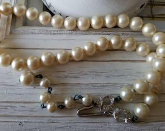 Estate Vintage Deltah Pearl Necklace