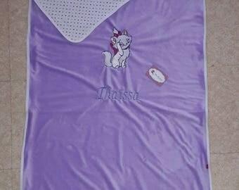 Blanket / Plaid embroidered children 80x120cm