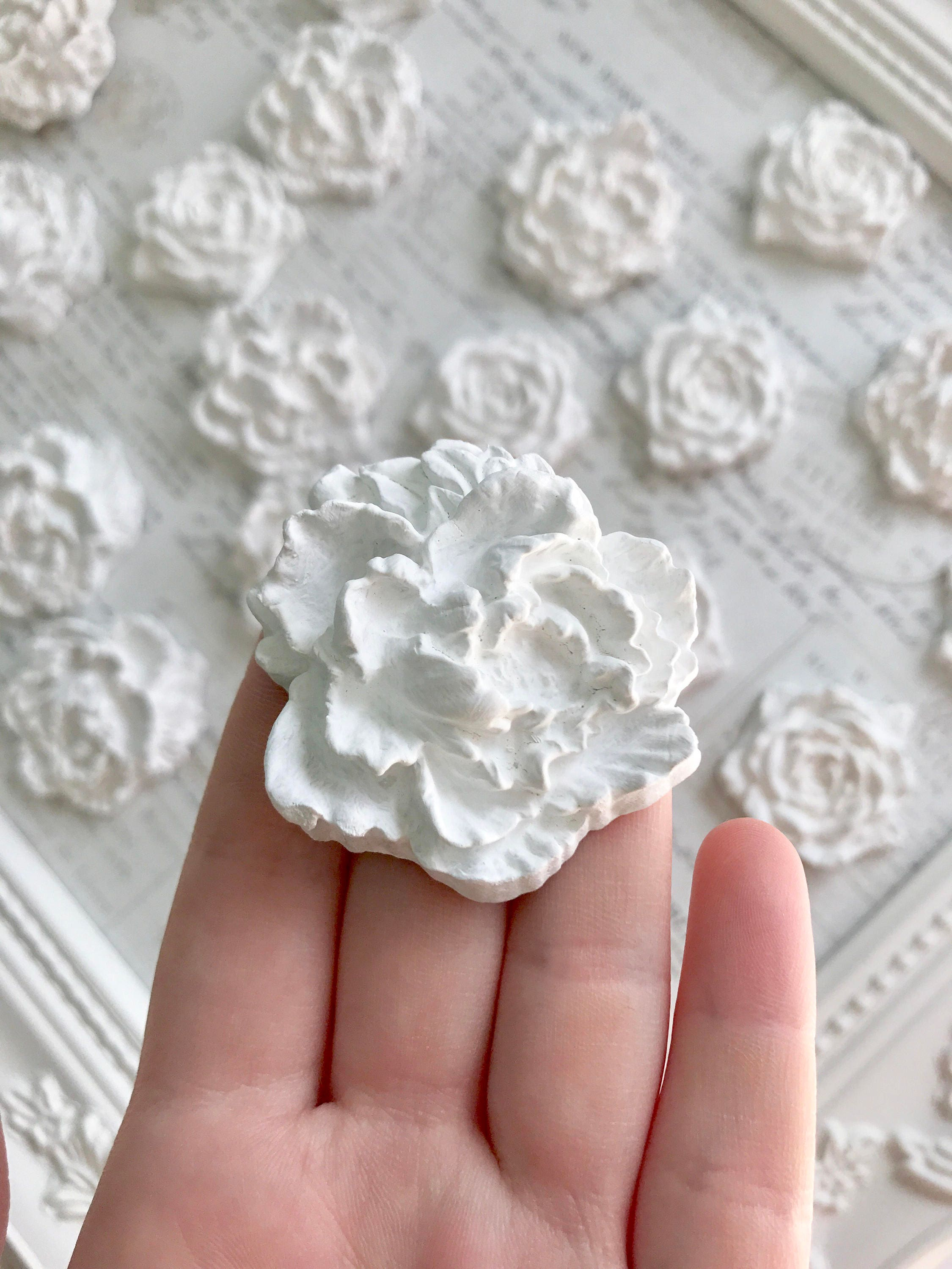 Bulk Large Flower Magnets, Wedding Magnets, Wedding Favors, Wedding ...