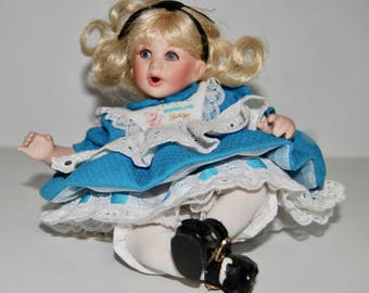 Baby Alice in Wonderland Tiny Tot Doll by Marie Osmond