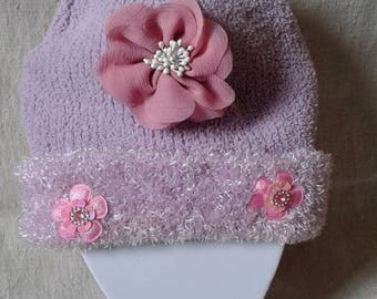 Nice Pink Hat and small flowers