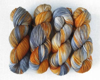 POCKET CHANGE - Hand Dyed Yarn – Choose Weight - Fingering  / Sport / Worsted – Superwash Variegated Yarn