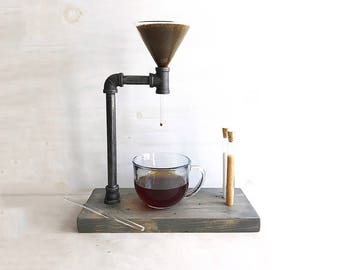 industrial coffee pour over free shipping coffee drip glass funnel coffee maker - Industrial Coffee Maker