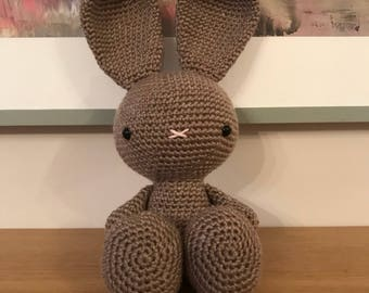 Handmade Crochet Bunny Rabbit Soft Toy