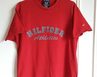 T-shirt 100% cotton Tommy Hilfiger Vintage early 00 size s.