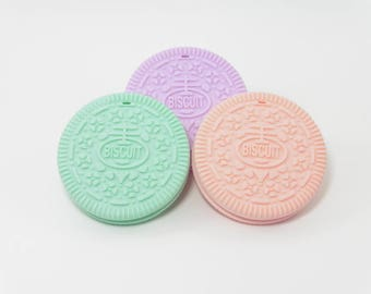 P silicone teething toy ' little cookies