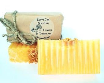 Lemon & Turmeric Soap