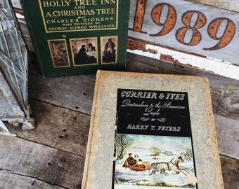 Old Books - Very Old Christmas Treasures