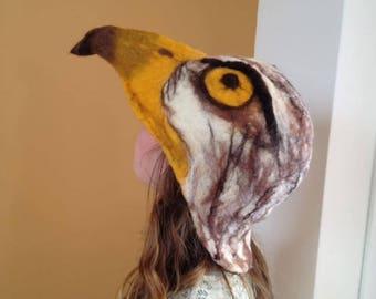 Eagle hat/ Bird of prey hat
