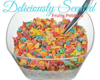 1/2 or 1 oz FRUITY PEBBLES Premium Fragrance Oil for candles, soap, perfume oil, cosmetics, soap making, pure, skin safe, supply, sample