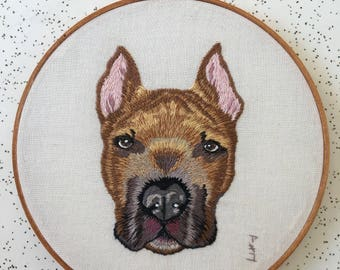 "6"" Made-to-order Dog Pet Portrait"