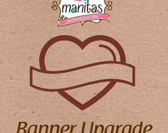 Birthday Party Banner Upgrade! for wristbands order
