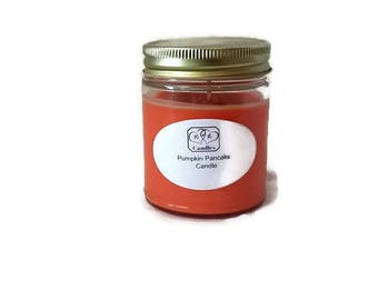 Soy wax candle Pumpkin Pancake scented