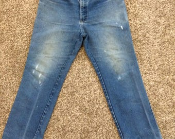 Perfectly worn/distressed mens Lee jeans! 38x30