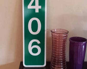 Custom Mile Marker Signs