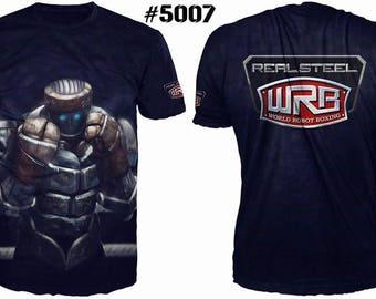 Unique 3D High Quality Mens  T-shirt Realsteel