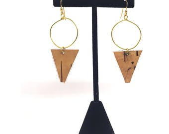 Handmade Birch Earrings