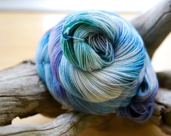 Hand Dyed Sock Yarn - I Want to Squeeeeeze You