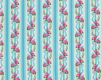 Happy Land - Martha - Sky by Jennifer Paganelli/ Free Spirit Fabrics - Sold by the Yard