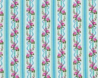Free Spirit Fabrics Happy Land - Martha - Sky by Jennifer Paganelli - Sold by the Yard