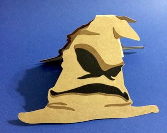 Harry Potter Sorting Hat Pop Up Card
