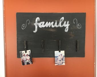 Family Picture Holder