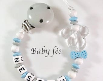 Personalized boy name pacifier pacifier style Mickey