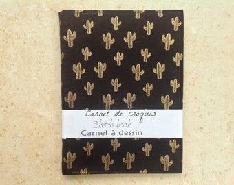 """Sketchbook - Sketch book - book illustration - """"Cactus"""""""