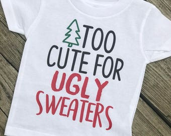 Not So Ugly Christmas Sweater Collab//christmas outfit// ugly sweater// kids